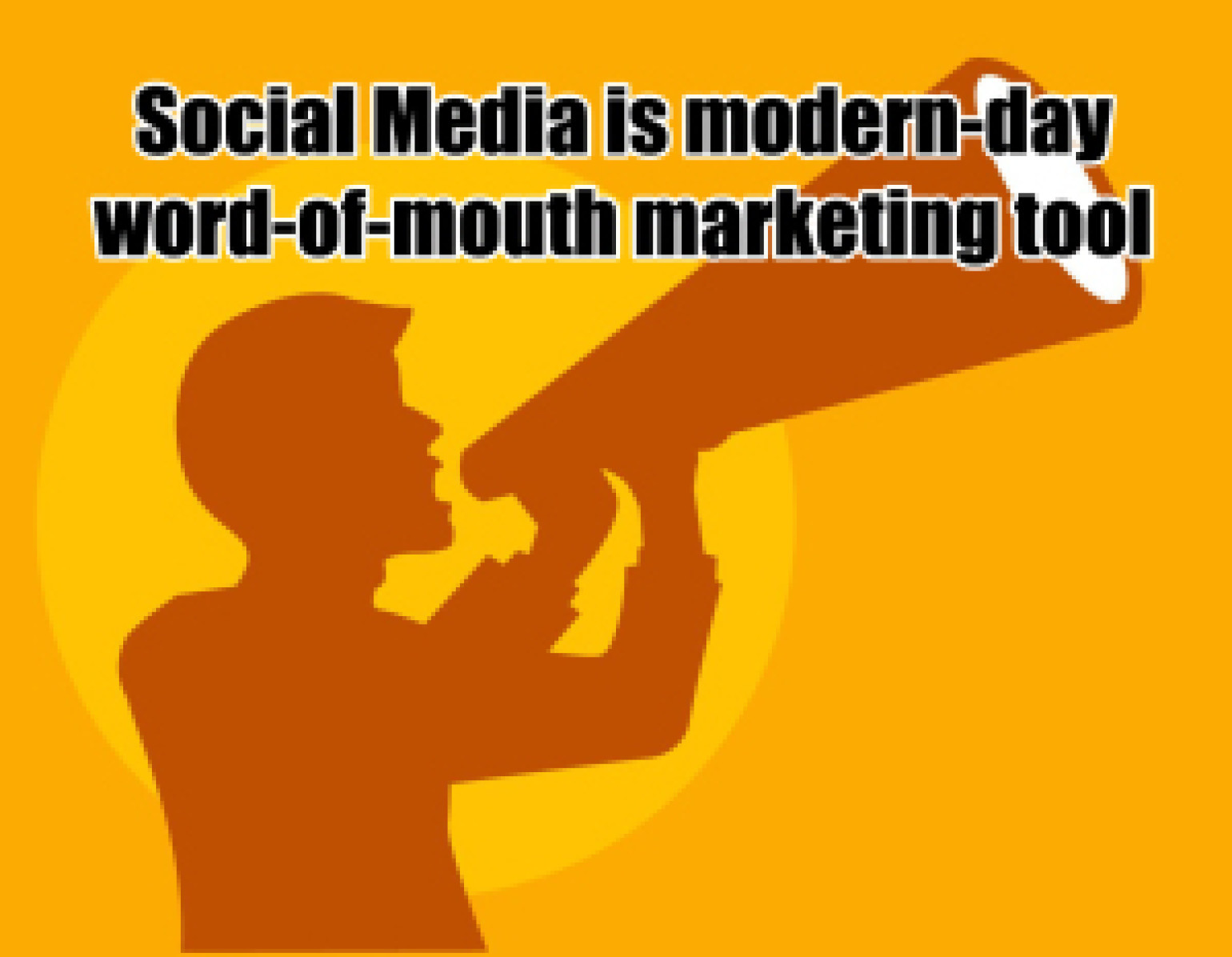 Social Media is Word of Mouth Marketing. As Simple as That.