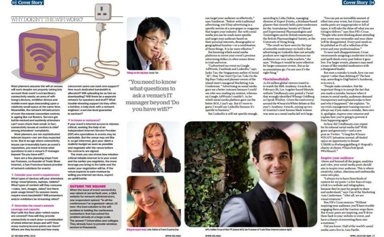 Interview with CEI Asia Magazine